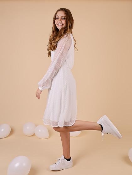 WM1064 White & More Melanie Dress HVID