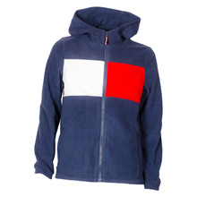 KB0KB04425 Tommy Hilfiger Fleece Zip MARINE