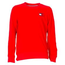 KB0KB04427 Tommy Hilfiger Fleece  RØD