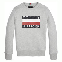 KB0KB05474 Tommy Hilfiger Sweat GRÅ