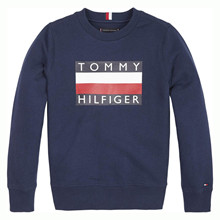KB0KB05474 Tommy Hilfiger Sweat MARINE