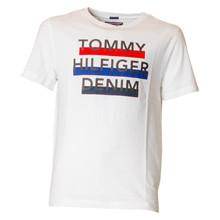 KB0KB03421 Tommy Hilfiger Logo Tee HVID