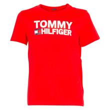 KB0KB04078 Tommy Hilfiger T-shirt RØD