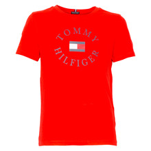 KB0KB04676 Tommy Hilfiger T-shirt RØD