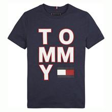 KB0KB05428 Tommy Hilfiger T-shirt  MARINE
