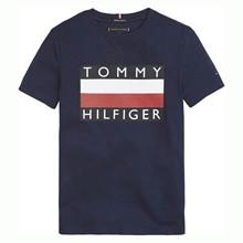 KB0KB05547 Tommy Hilfiger T-shirt  MARINE