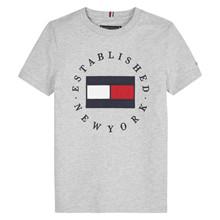KB0KB05718 Tommy Hilfiger T-shirt  GRÅ
