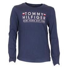 KB0KB04277 Tommy Hilfiger Shirt L/Æ MARINE