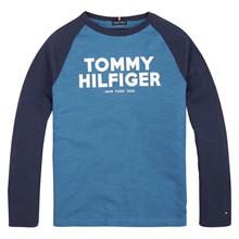 KB0KB05224 Tommy Hilfiger T-shirt L TURKIS