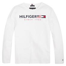 KB0KB04997 Tommy Hilfiger Flag L/Æ  HVID