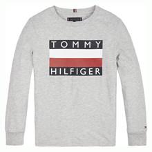 KB0KB05426 Tommy Hilfiger T-shirt  GRÅ