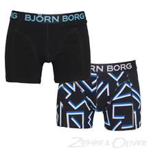 1711-1200 Bjørn Borg 2 pack tights SORT