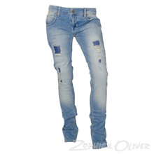 2170822 Hound  Xtra Slim Jeans LYS BLÅ