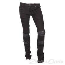2171030 Hound XTRA SLIM jeans biker SORT