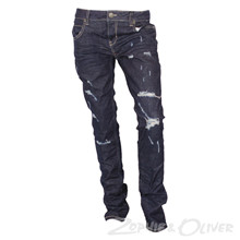 2171017 Hound Straight jeans  MØRKEBLÅ