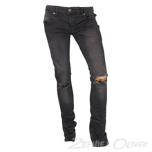 2171102 Hound XTRA SLIM knee cut  KOKSGRÅ