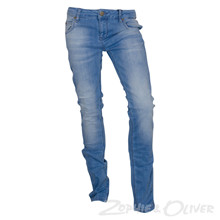 2990035-1 Straight jeans LYS BLÅ