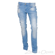 2990015-1 Hound Pipe jeans LYS BLÅ
