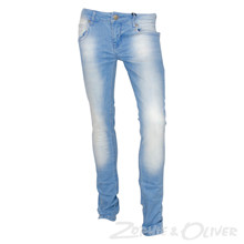 2990041-1 Hound Xtra slim Jeans LYS BLÅ