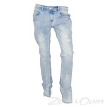 2180126 Hound Pipe jeans LYS BLÅ