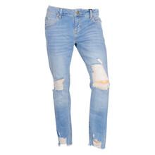 2180450 Hound Straight Ankle Jeans  BLÅ