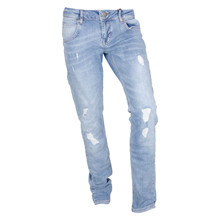 2990015-2 Hound Pipe Ripped Jeans LYS BLÅ