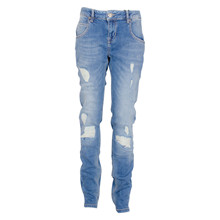 2181021 Hound Pipe Ripped Jeans BLÅ