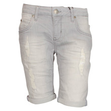 2180420 Hound Shorts ripped GRÅ