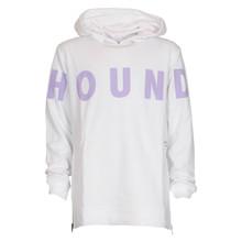 2180409 Hound Long Line Hoodie HVID