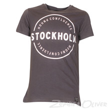 2171004 Hound T-shirt s/s KOKSGRÅ