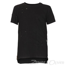 2180117 Hound Long line ripped tee SORT