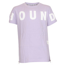2180407 Hound long line t-shirt LILLA