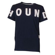 2180407 Hound long line t-shirt MARINE