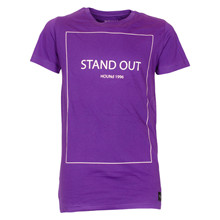 2180802 Hound Stand Out T-shirt LILLA