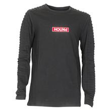2181009 Hound T-shirt L/Æ SORT