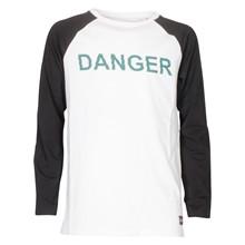 2190108 Hound Danger T-shirt L/Æ HVID