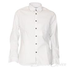 2181209 Hound Prikket skjorte HVID