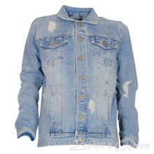 2180216 Hound Denim Jacket BLÅ