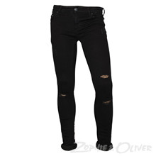 13402 Costbart Bowie Jeans m. hul SORT