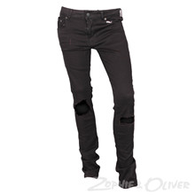 13445 Costbart Bowie Jeans Hul SORT