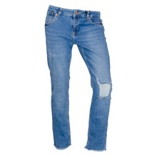 13938 Costbart George Jeans  BLÅ