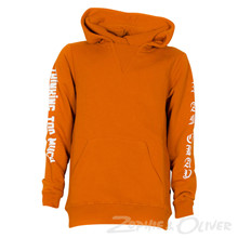 13494 Costbart  Villi Hoodie ORANGE