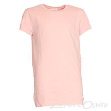 13319 Costbart Jafar Long line t-shirt  LYS RØD