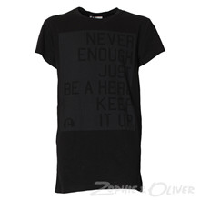 13292 Costbart Theodor T-shirt SORT