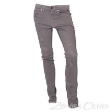4210421 DWG Rage 421 Ripped jeans GRÅ