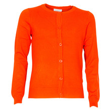 4409735 D-xel Hot 735 Cardigan  ORANGE