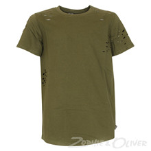 4505155 DWG Mick 155 Ripped t-shirt ARMY