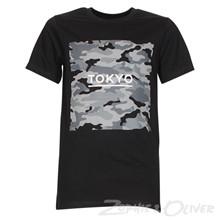 4208317 DWG Flosi 317 T-shirt  SORT