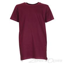 4208245 DWG Lasse 245 T-shirt  BORDEAUX