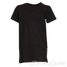 4208245 DWG Lasse 245 T-shirt  SORT